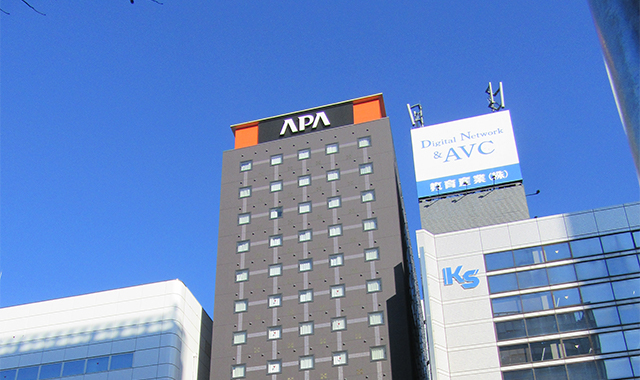 アパホテル名古屋栄北