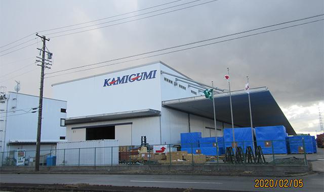 (株)上組飛島複合倉庫
